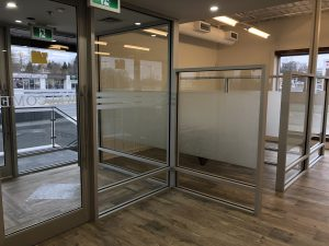 office privacy film